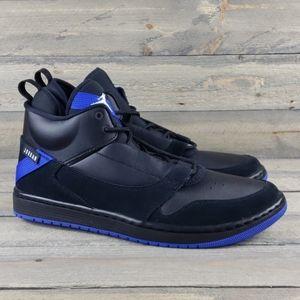 Nike Jordan Fadeaway Basketball Shoes Black/Blue